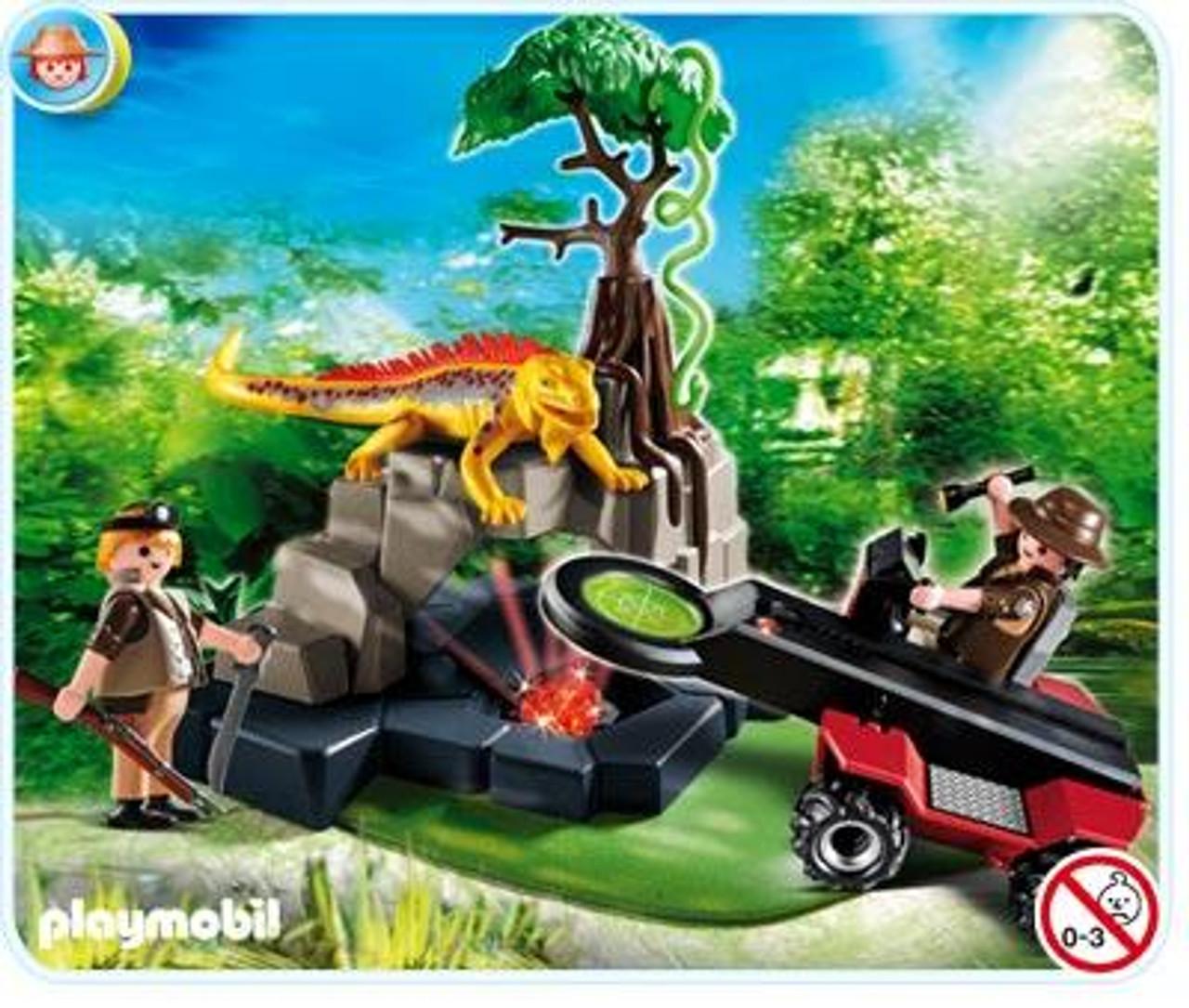 Playmobil Treasure Hunters Treasure Hunter with Metal Detector Set #4847