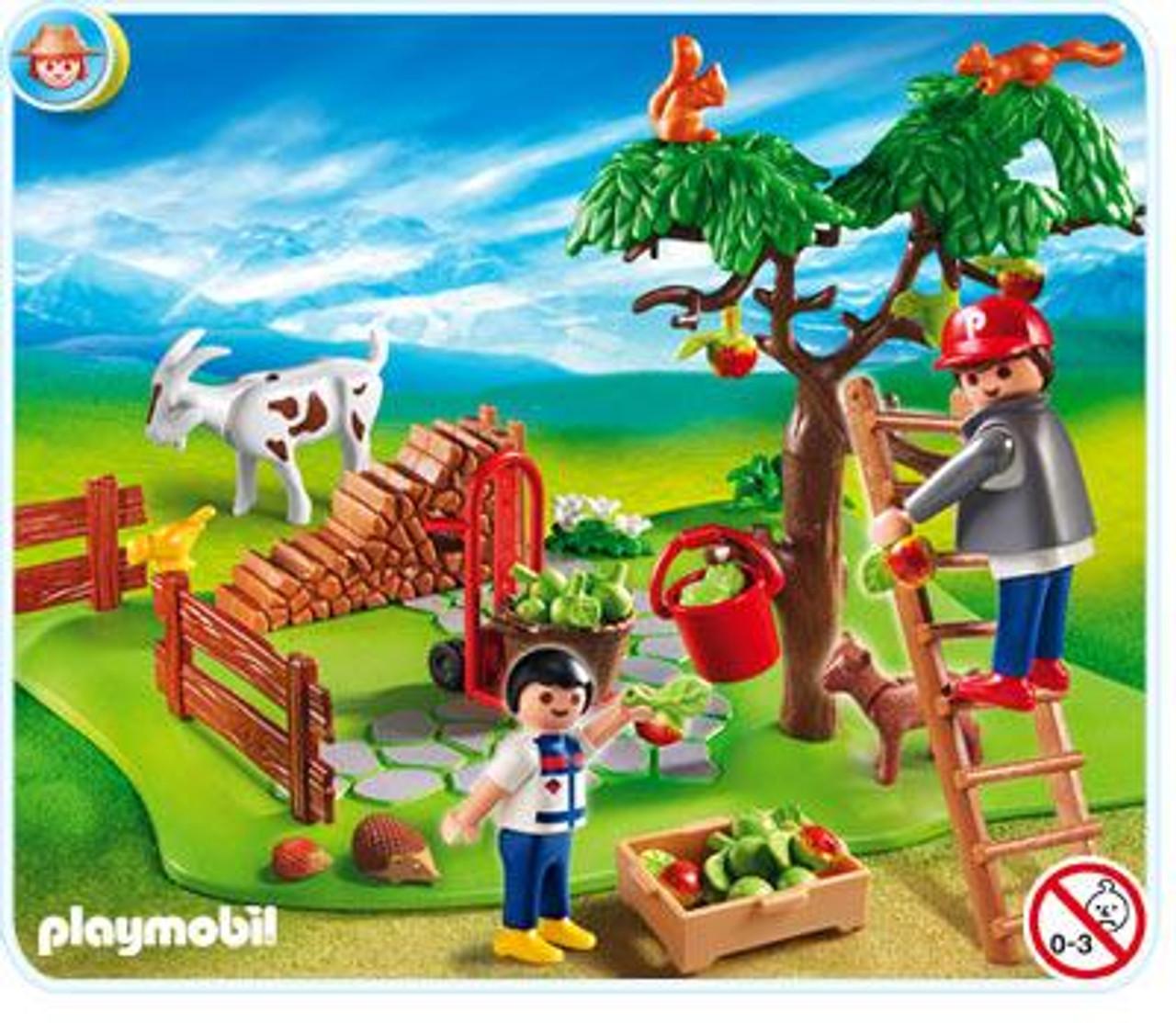 Playmobil Farm Apple Harvest Set #4146