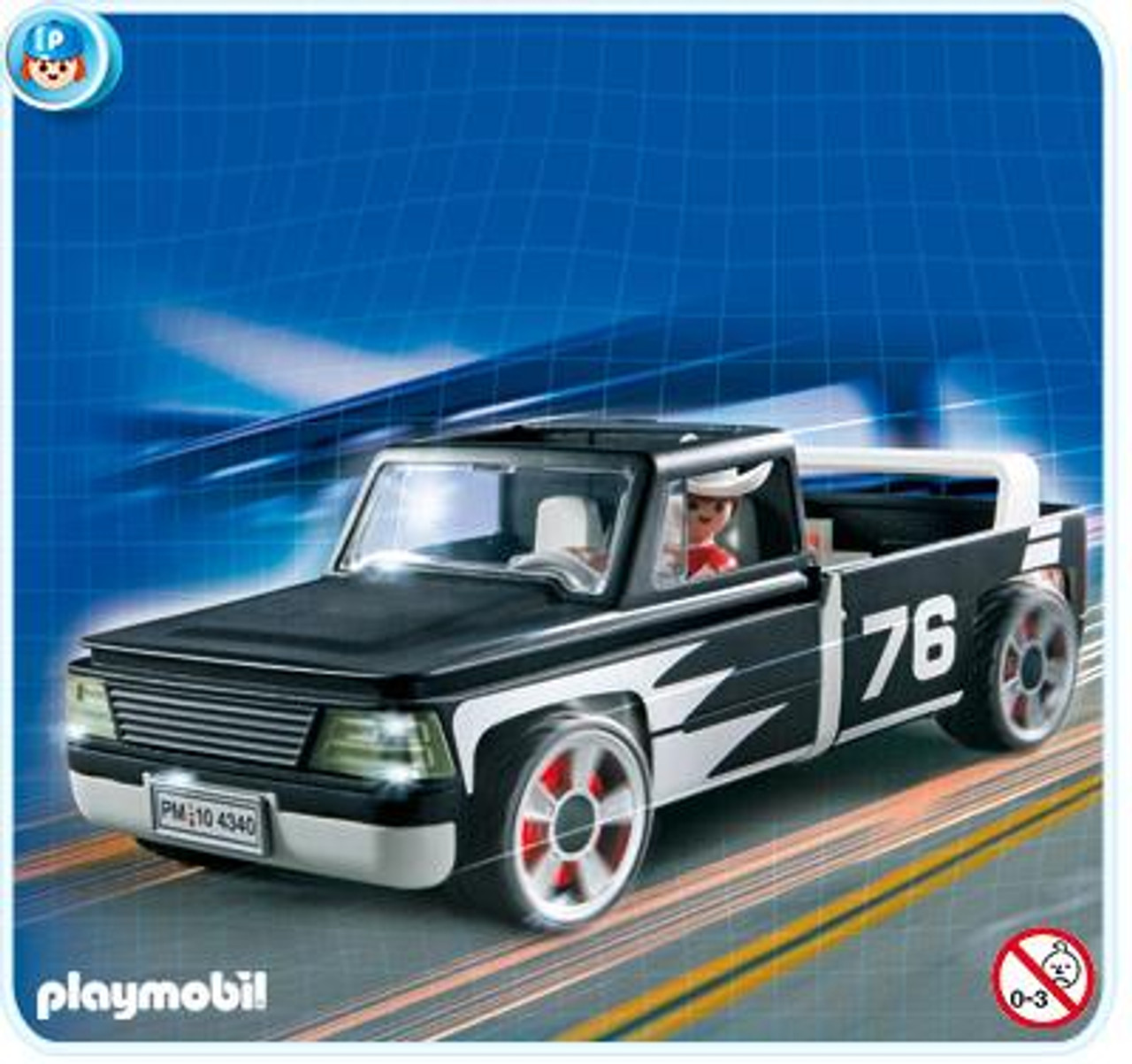 Playmobil Transport Carry Along Pick Up Truck Set #4340