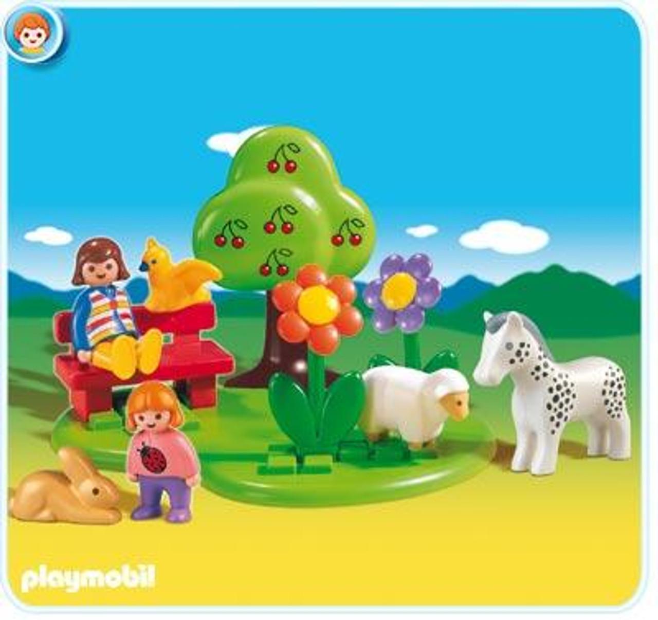 Playmobil 1.2.3 Meadow Set #6757