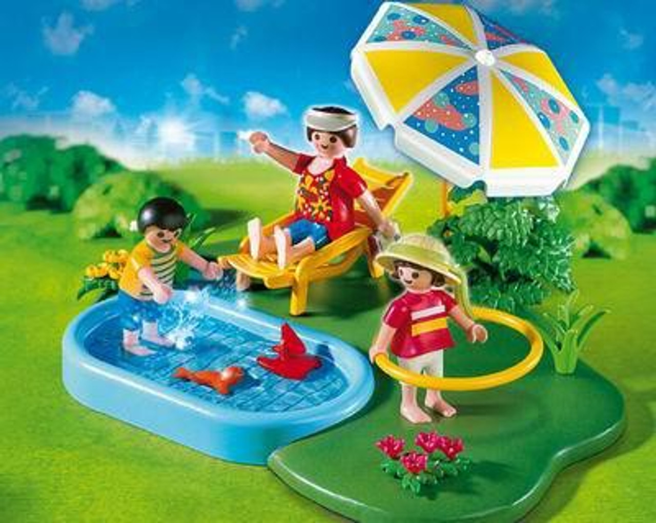 Playmobil Vacation & Leisure Wading Pool Compact Set Set #4140