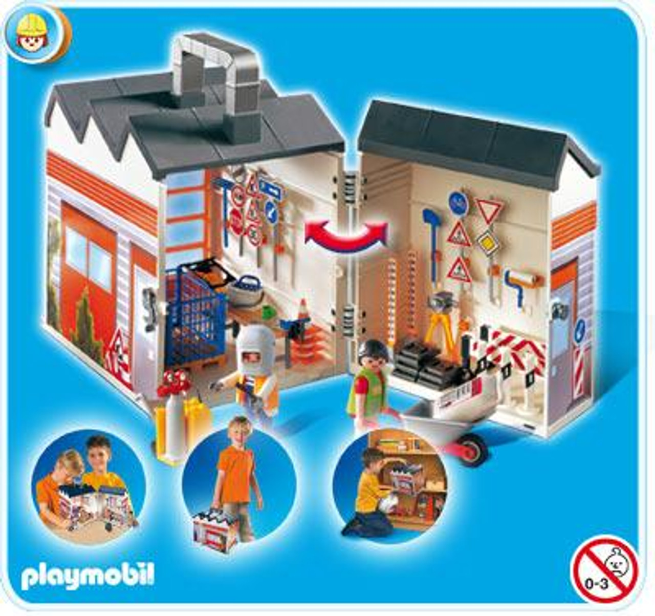 Playmobil Take Along Construction Set #4043