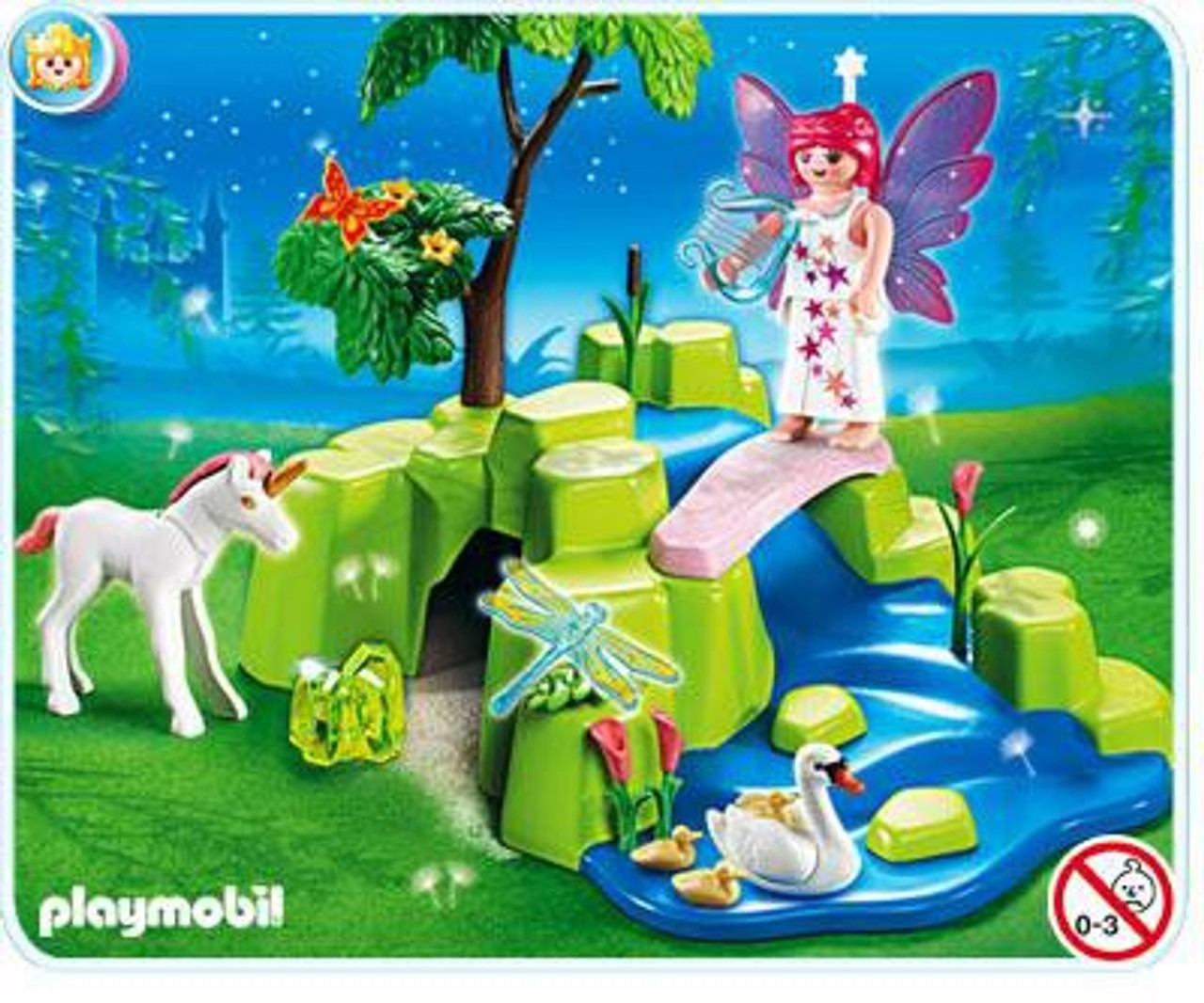 Playmobil Magic Castle Fairy Garden Set #4148