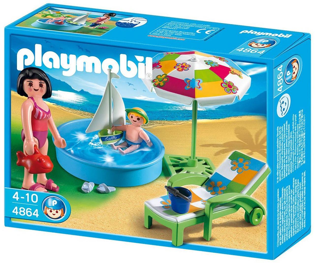 Playmobil Vacation & Leisure Paddling Pool Set #4864