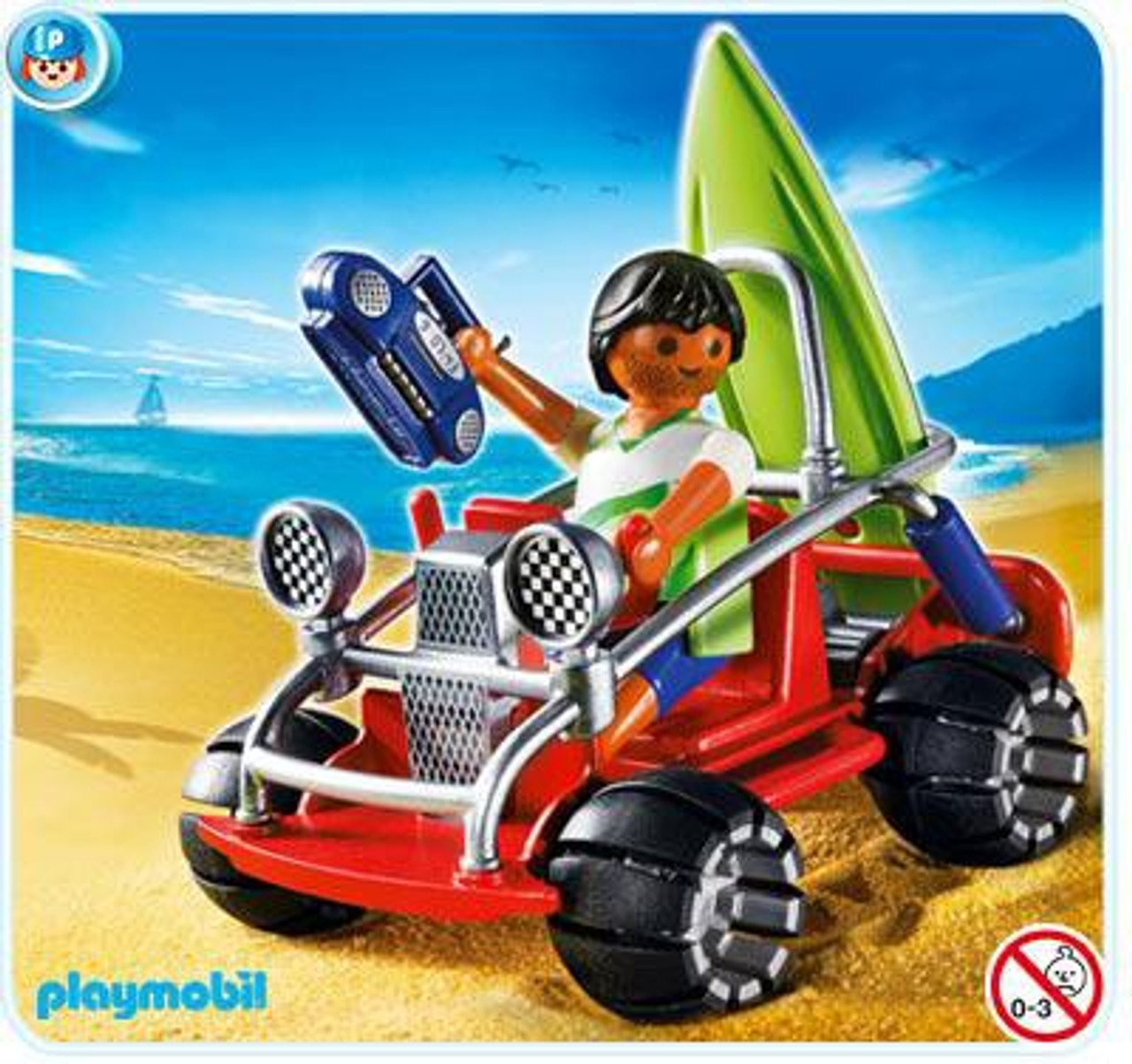 Playmobil Vacation & Leisure Beach Buggy Set #4863