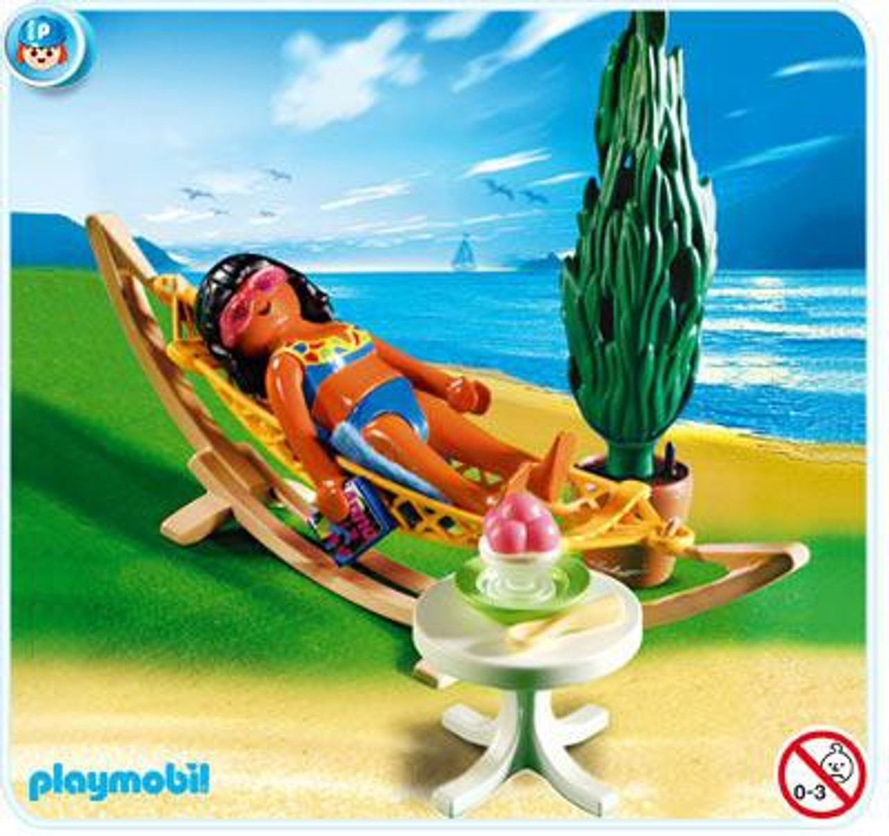 Playmobil Vacation & Leisure Woman in Hammock Set #4861