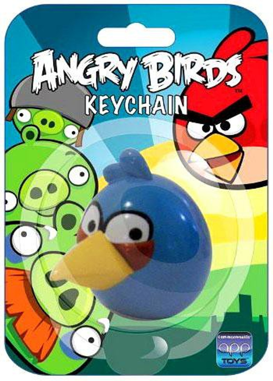 Angry Birds Blue Bird Keychain