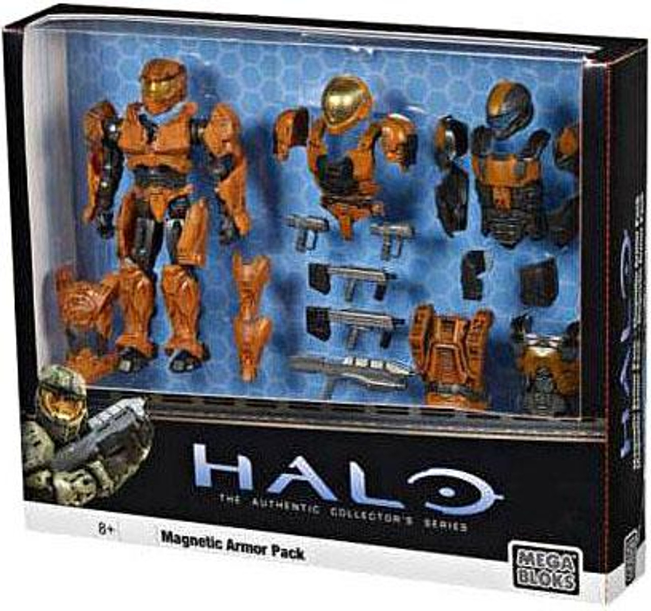 Mega Bloks Halo The Authentic Collector's Series Magnetic Armor Pack Exclusive Set #29767