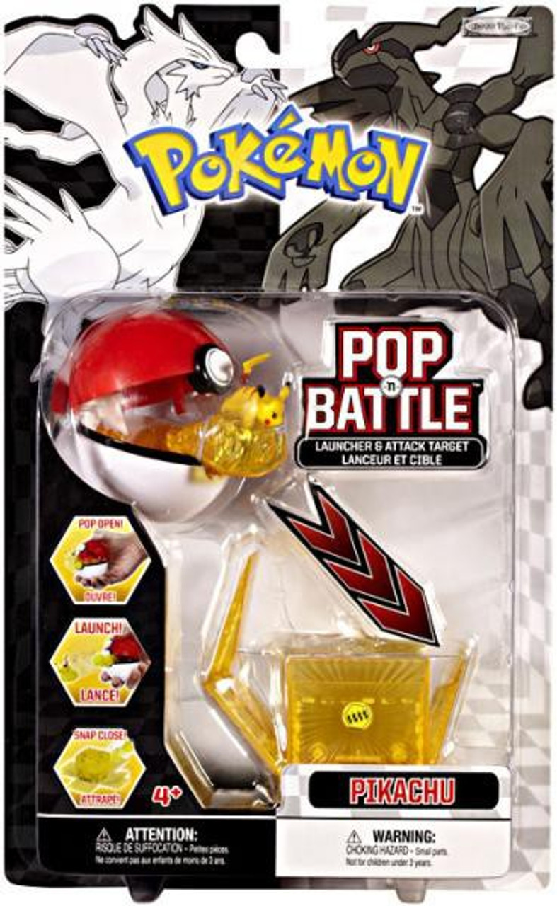 Pokemon Black & White Series 1 Pop n' Battle Pikachu Launcher