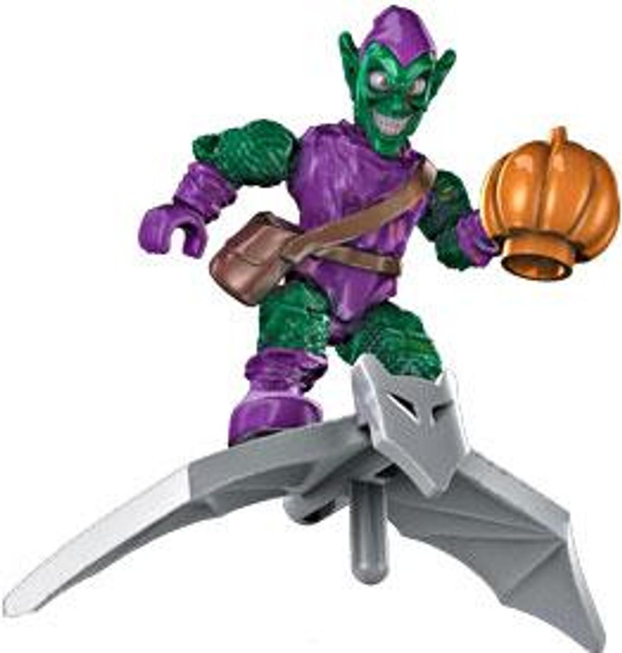 Mega Bloks Marvel Green Goblin Ultra Rare Minifigure [Loose]
