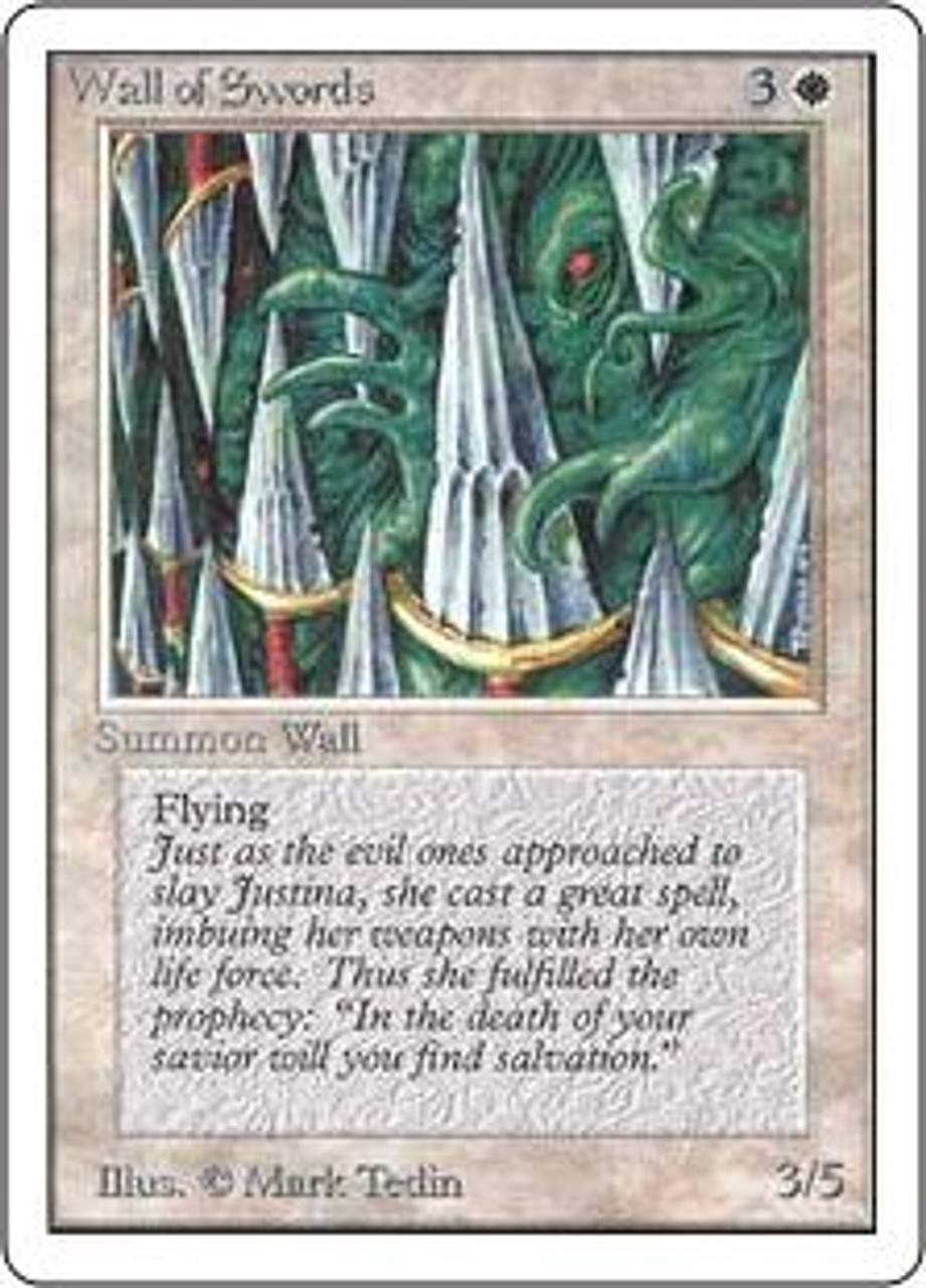 MtG Unlimited Uncommon Wall of Swords