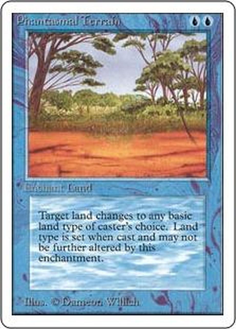 MtG Unlimited Common Phantasmal Terrain