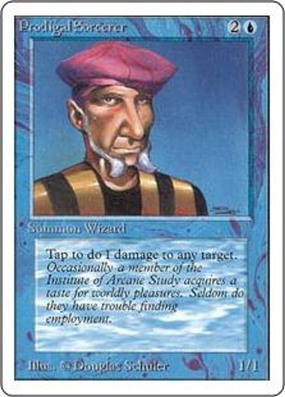 MtG Unlimited Common Prodigal Sorcerer