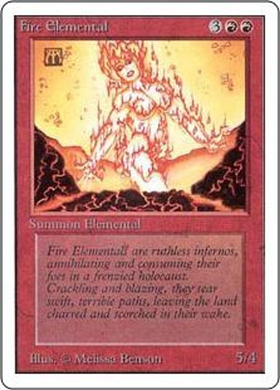 MtG Unlimited Uncommon Fire Elemental