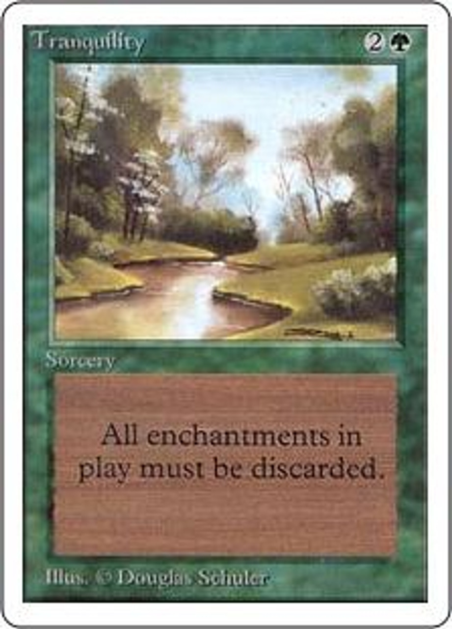 MtG Unlimited Common Tranquility [Slightly Played Condition]