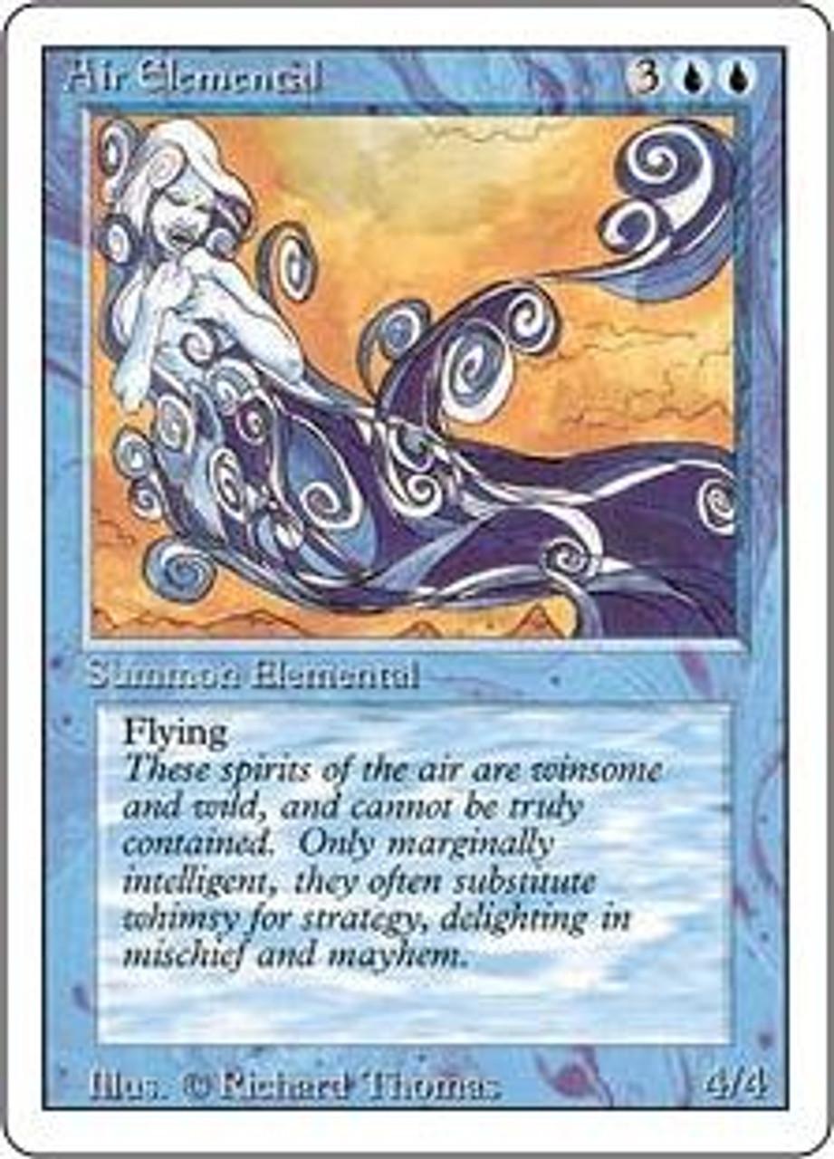 MtG Revised Uncommon Air Elemental