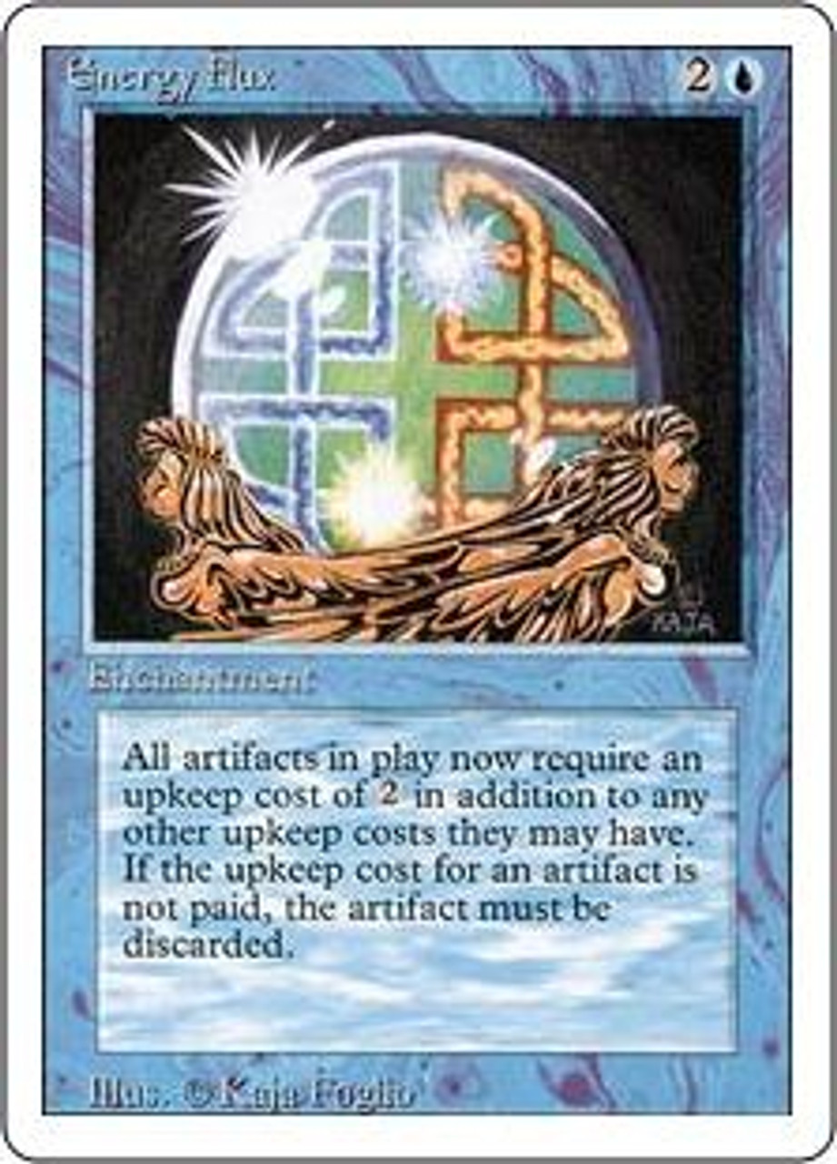 MtG Revised Uncommon Energy Flux