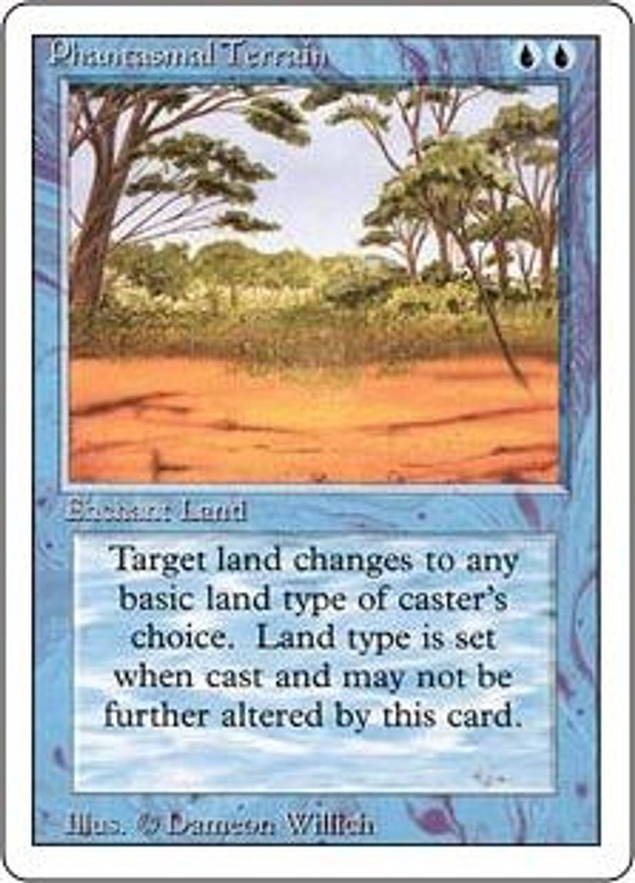 MtG Revised Common Phantasmal Terrain