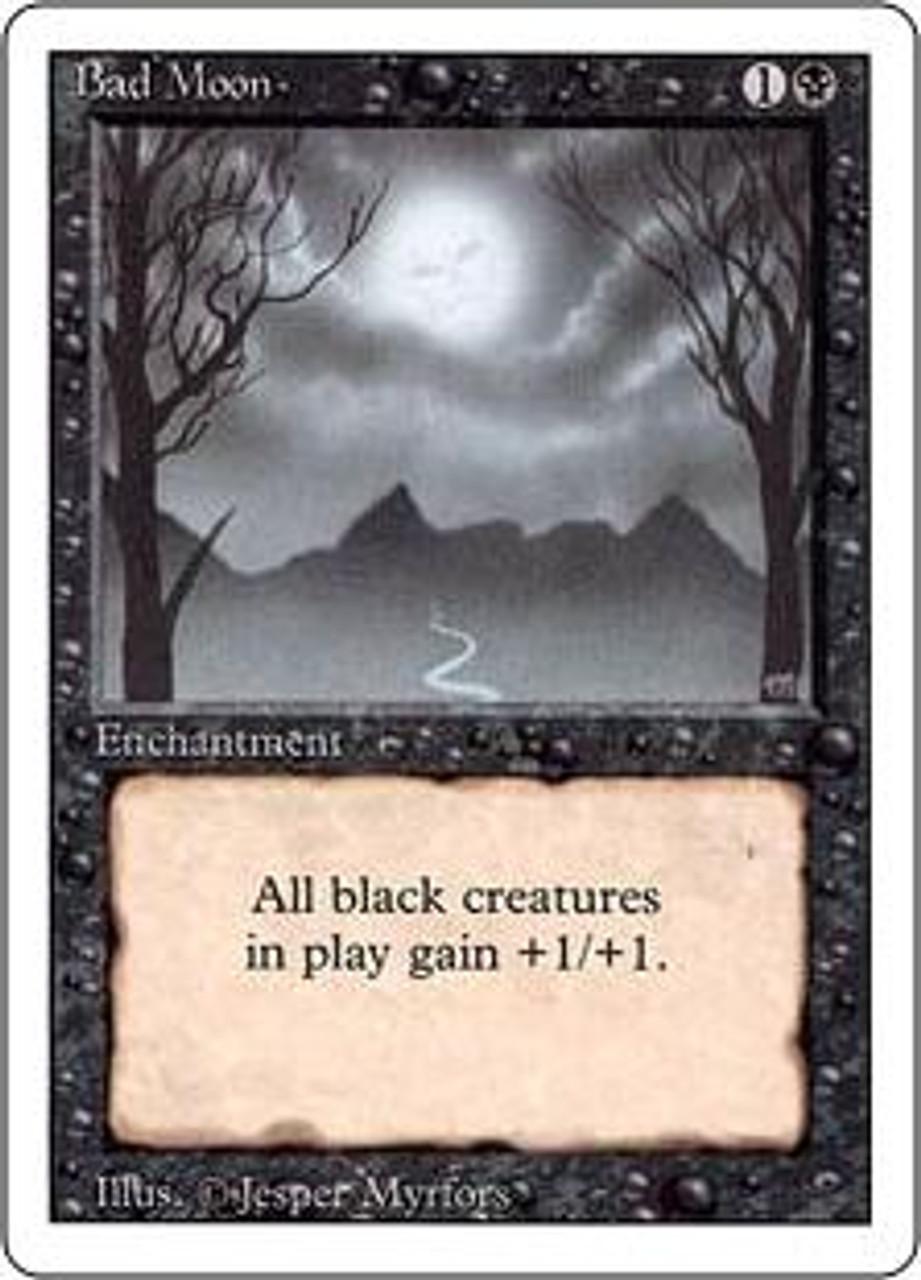 MtG Revised Rare Bad Moon [English]