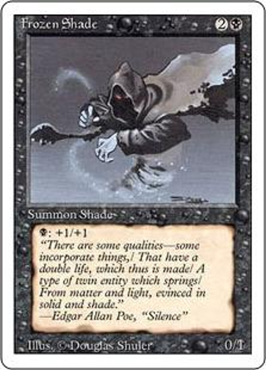 MtG Revised Common Frozen Shade