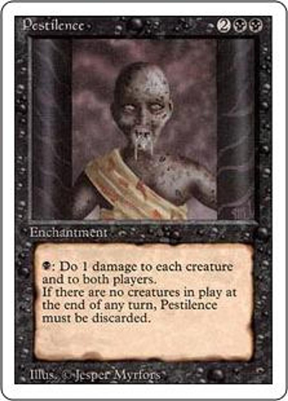 MtG Revised Common Pestilence