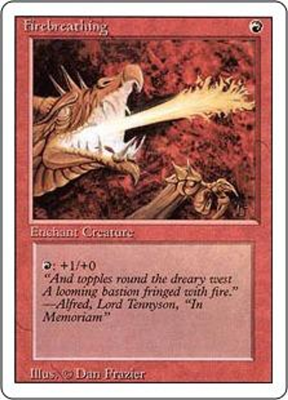 MtG Revised Common Firebreathing
