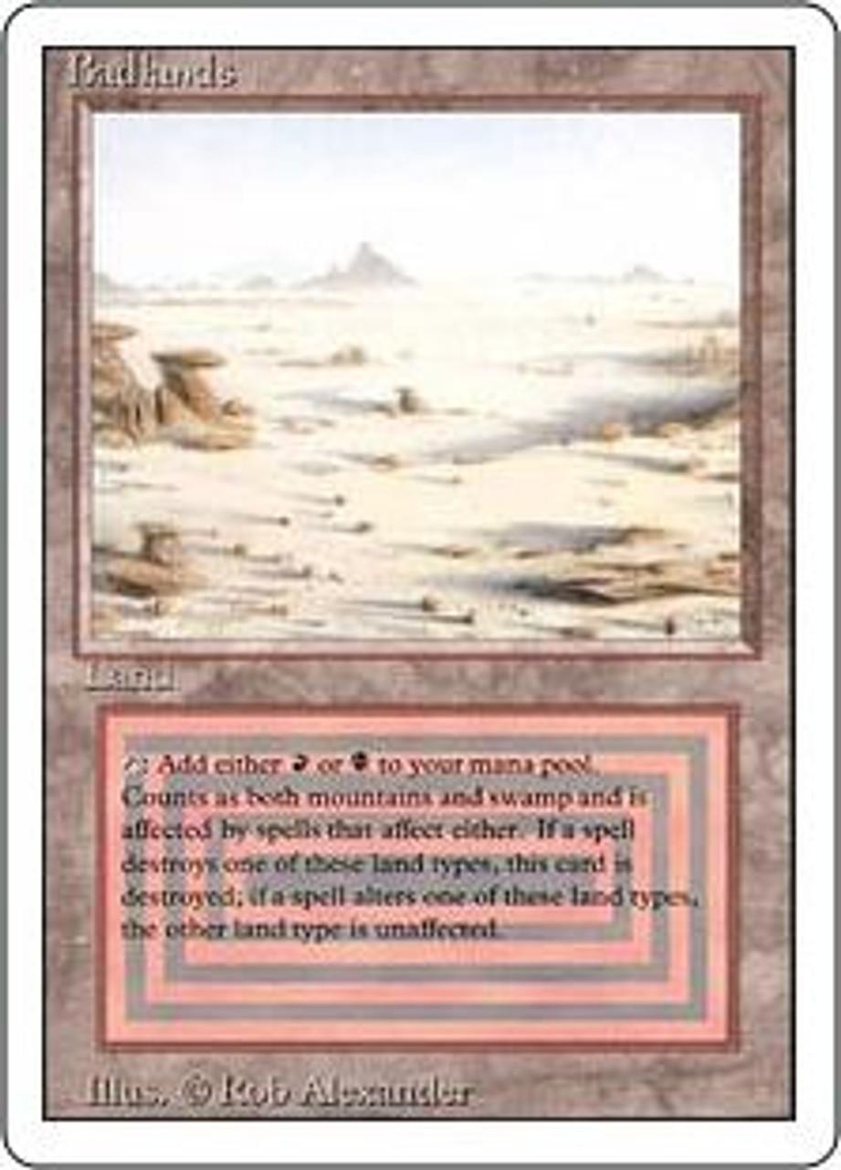 MtG Revised Rare Badlands [Near Mint / Mint]