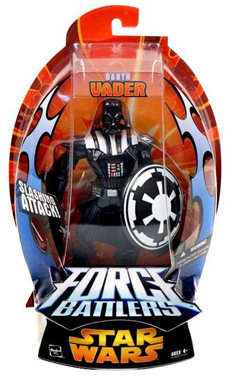 Star Wars Revenge of the Sith Force Battlers Darth Vader Action Figure