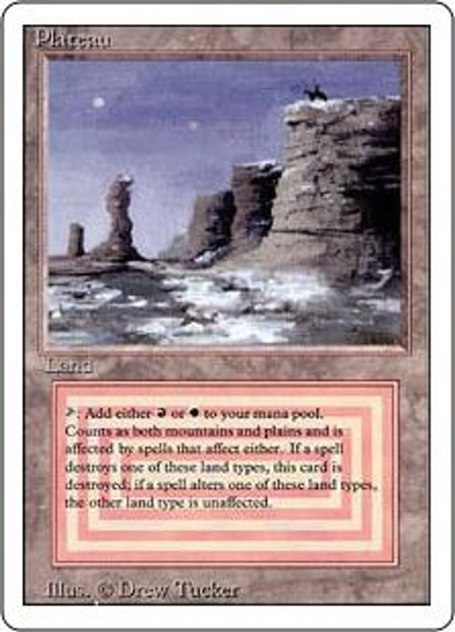 MtG Revised Rare Plateau