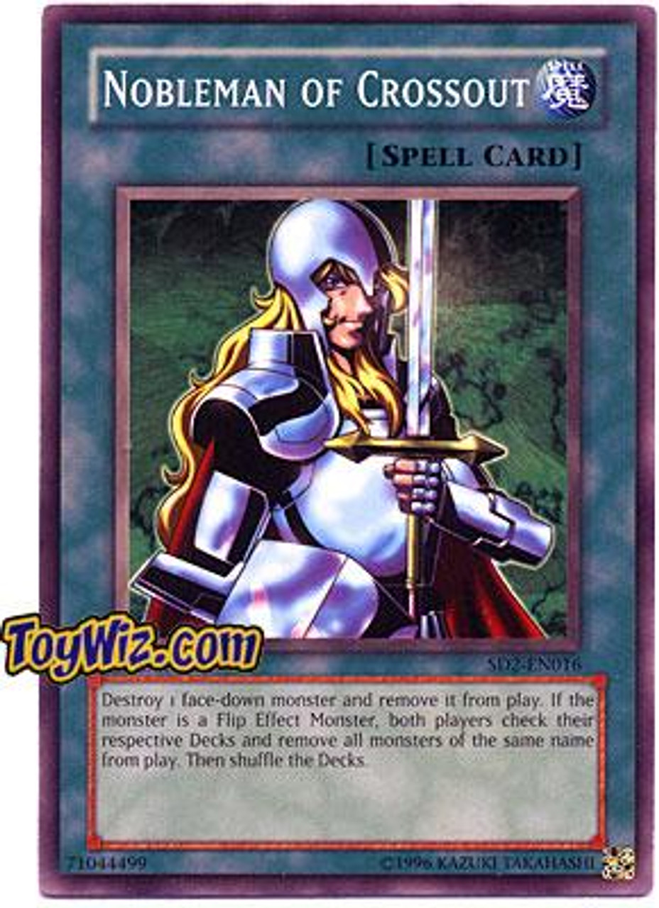 YuGiOh GX Structure Deck: Zombie Madness Common Nobleman of Crossout SD2-EN016