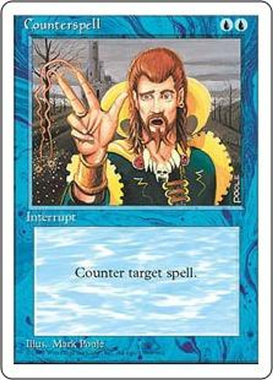 MtG 4th Edition Uncommon Counterspell
