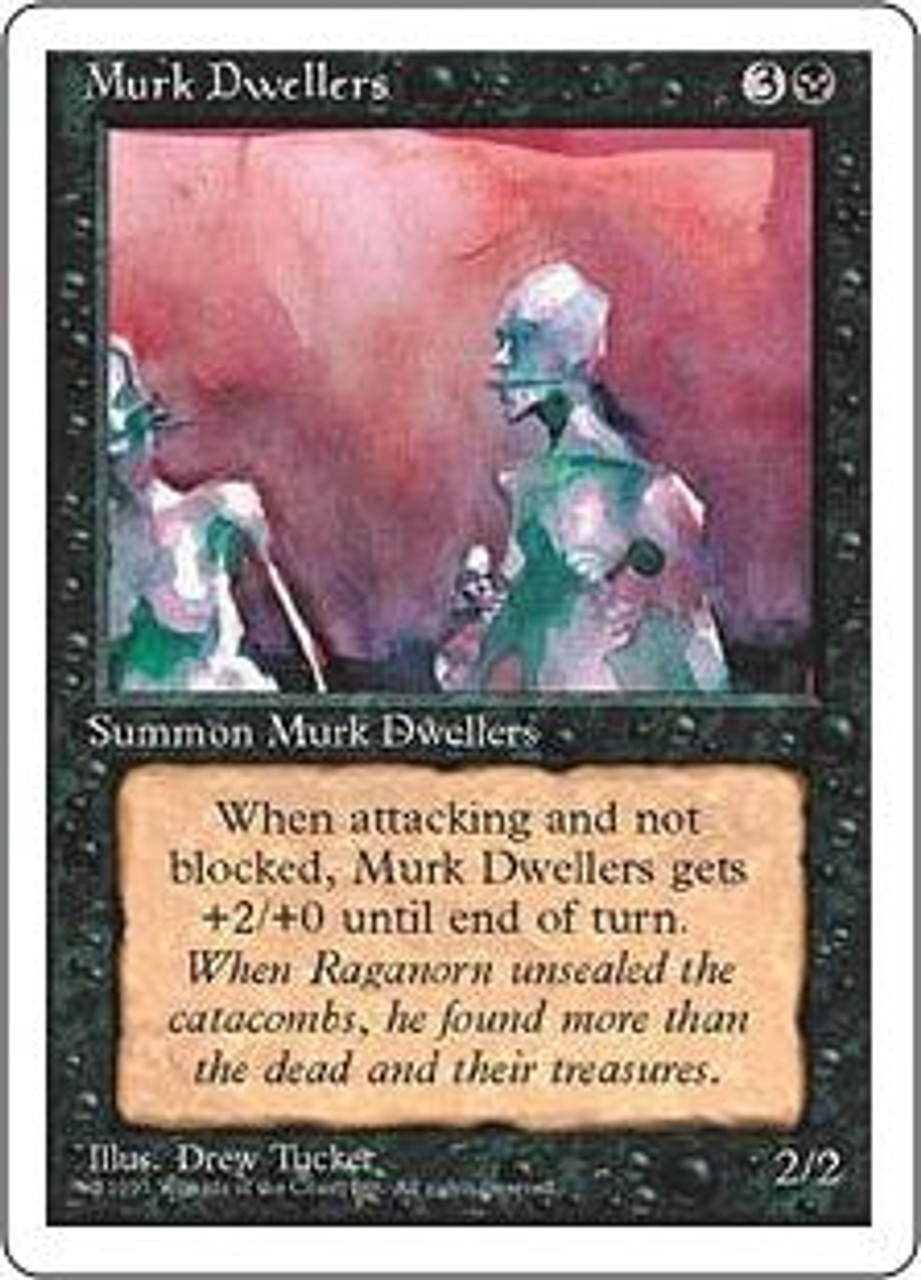 MtG 4th Edition Common Murk Dwellers