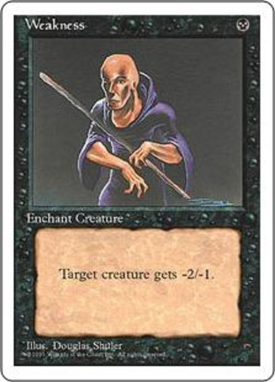 MtG 4th Edition Common Weakness