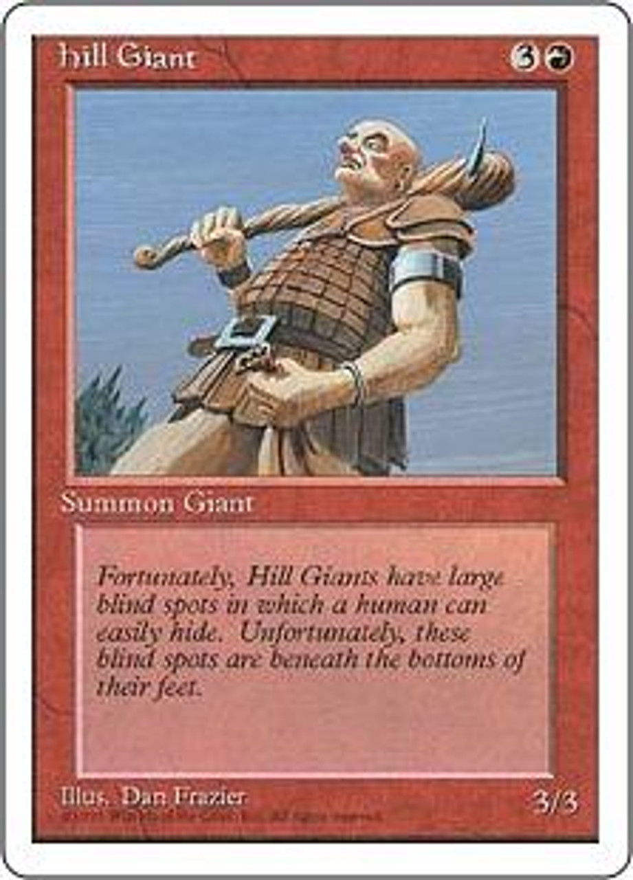 MtG 4th Edition Common Hill Giant