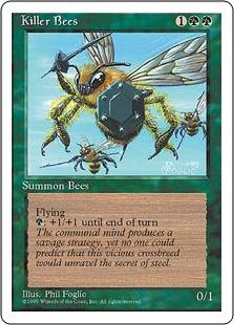 MtG 4th Edition Uncommon Killer Bees