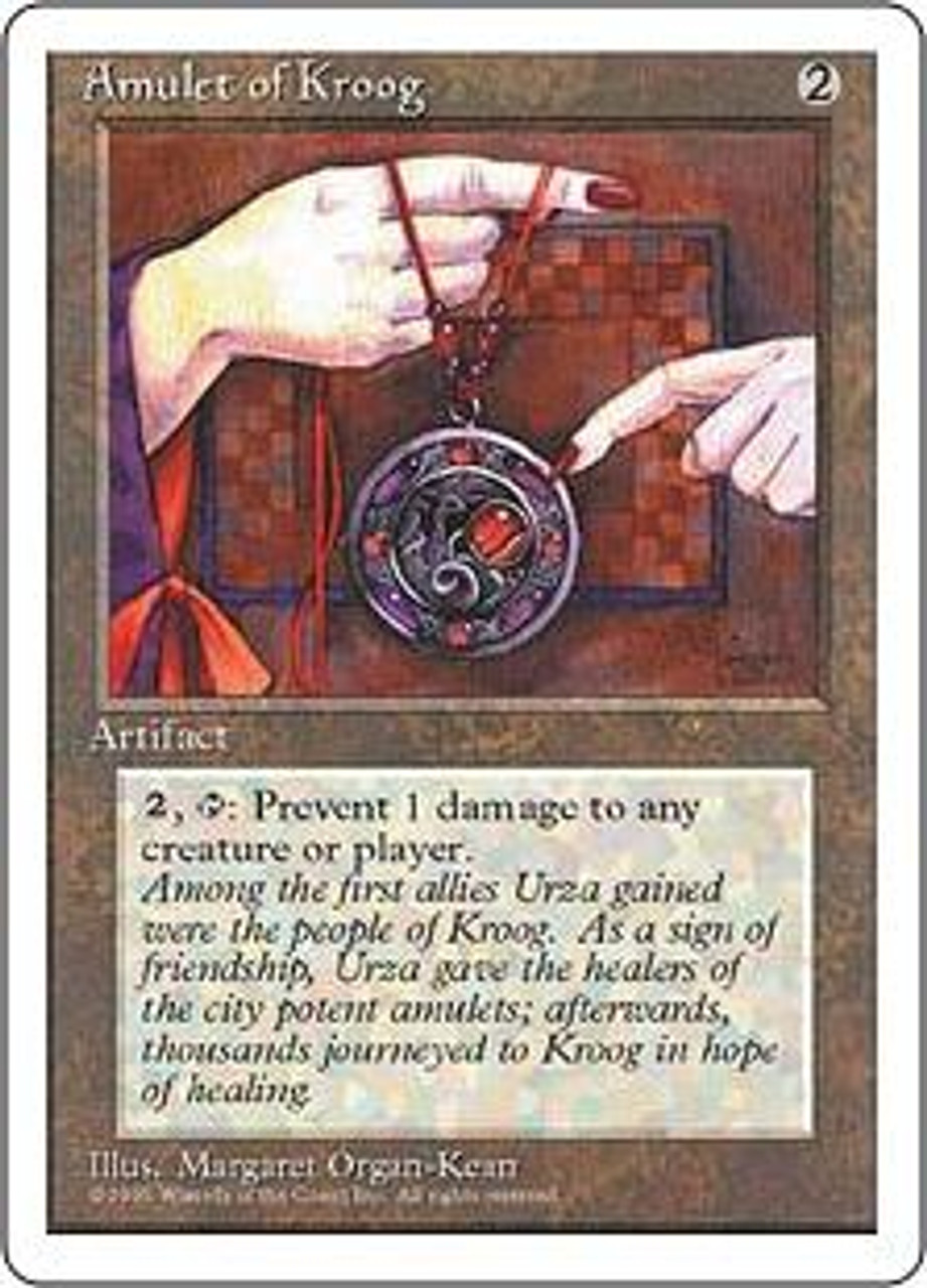 MtG 4th Edition Common Amulet of Kroog
