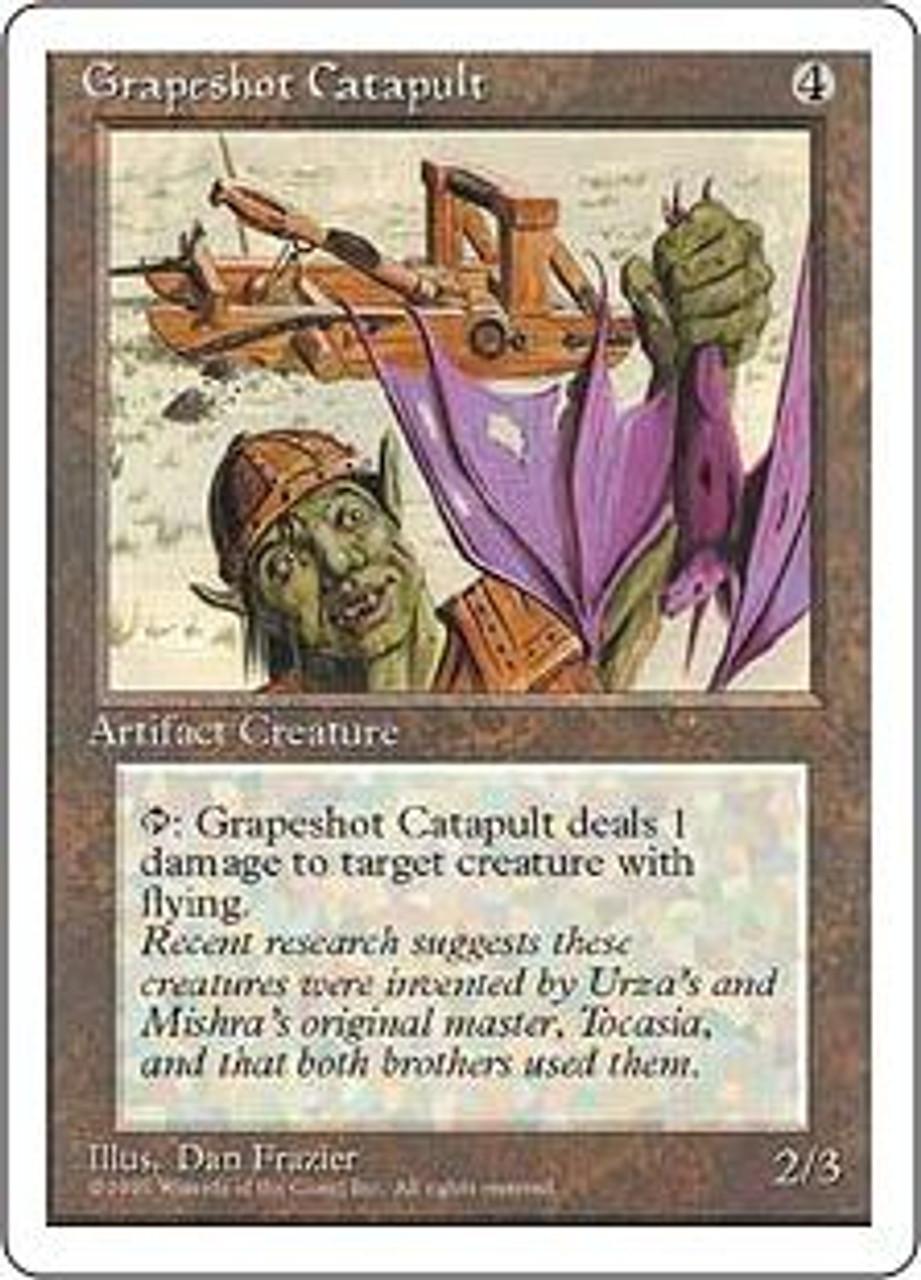 MtG 4th Edition Common Grapeshot Catapult
