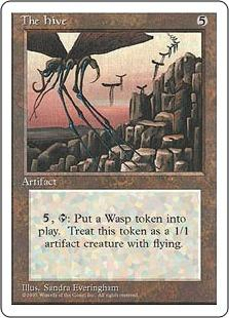 MtG 4th Edition Rare The Hive [Played Condition]
