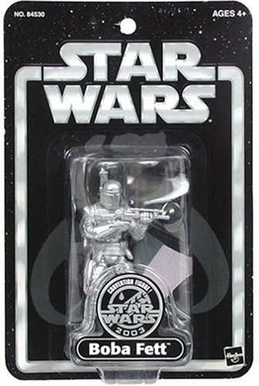 Star Wars Exclusives Boba Fett Exclusive Action Figure [Silver]