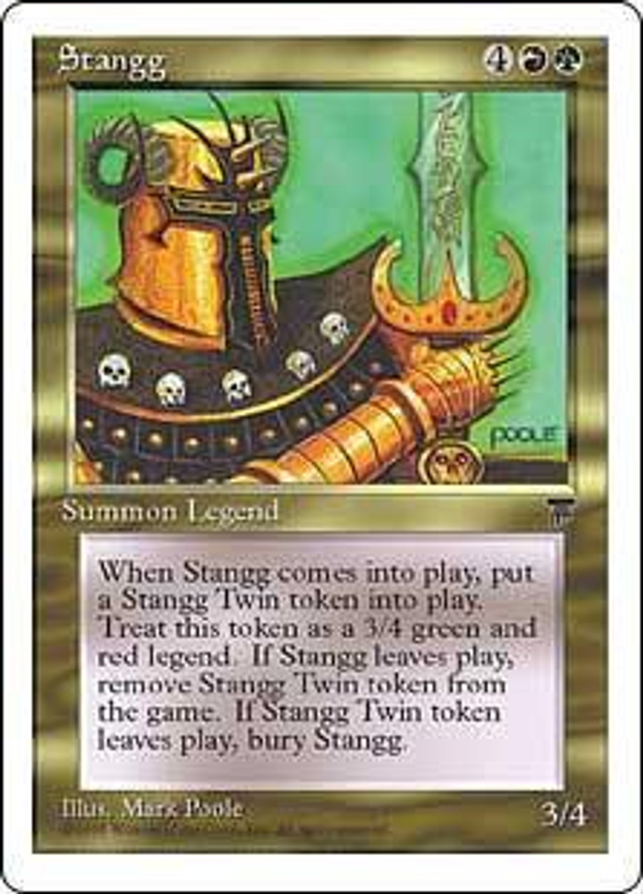 MtG Chronicles Rare Stangg [Played Condition]