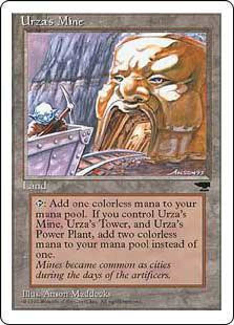 MtG Chronicles Uncommon Urza's Mine [Random Artwork]
