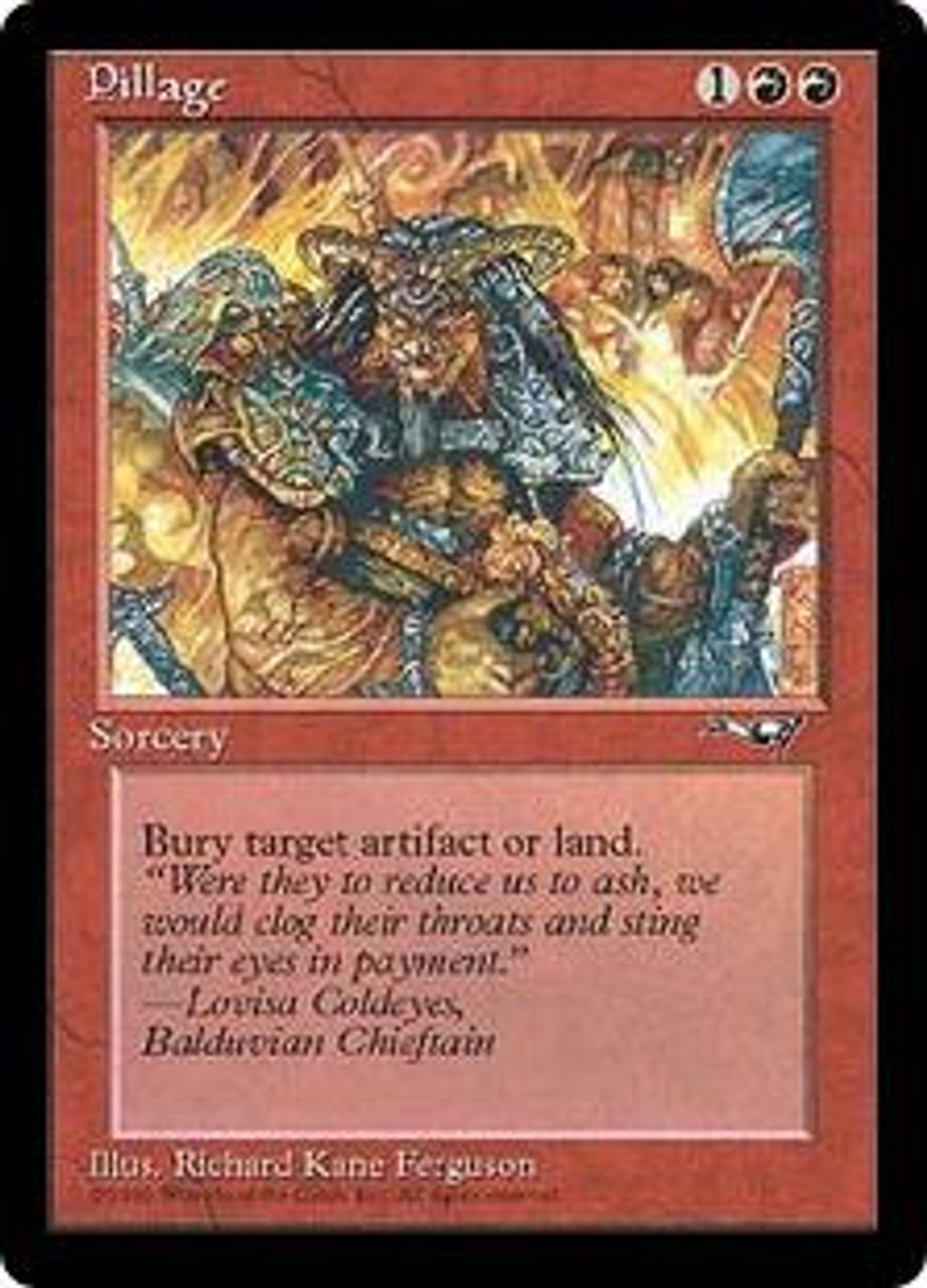MtG Alliances Uncommon Pillage [Played Condition]