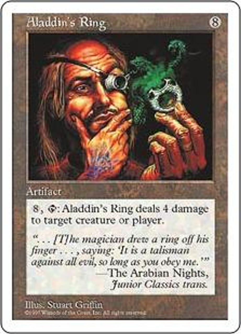MtG 5th Edition Rare Aladdin's Ring