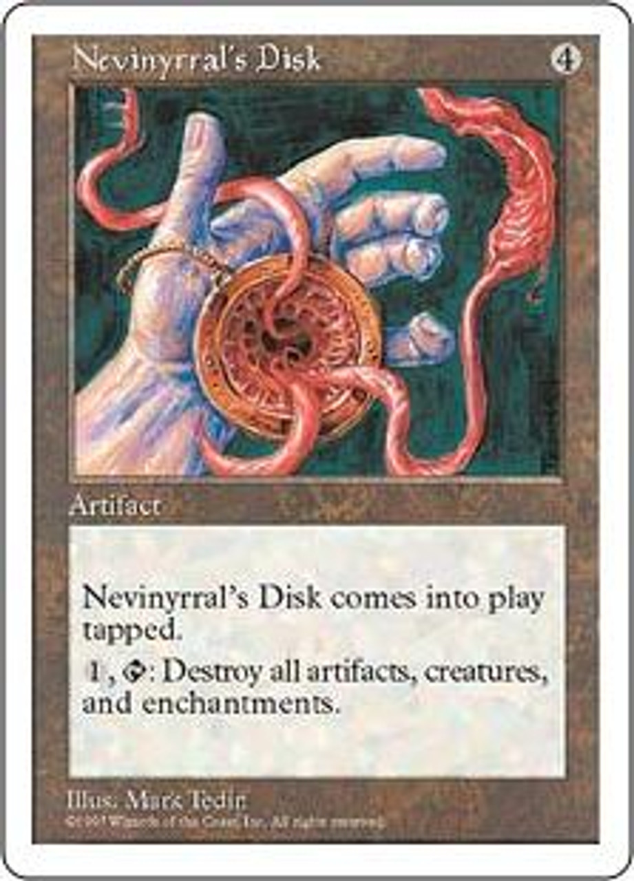 MtG 5th Edition Rare Nevinyrral's Disk