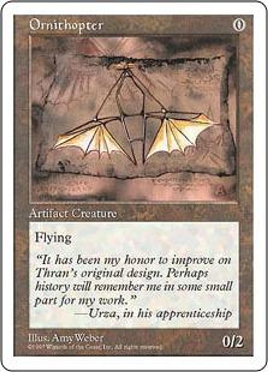 MtG 5th Edition Uncommon Ornithopter