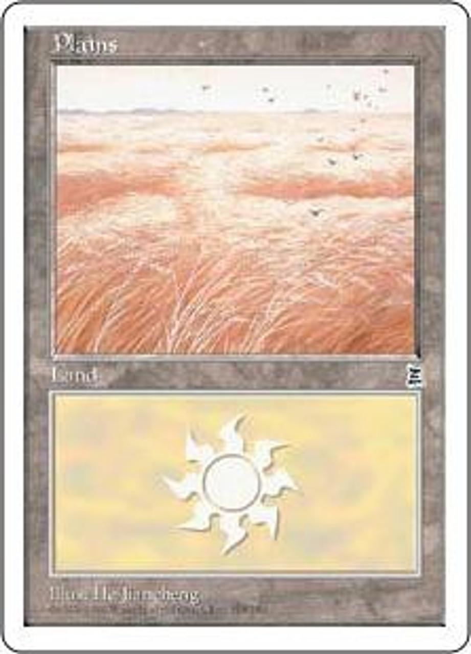 MtG Portal Three Kingdoms Basic Land Plains #166 [Random Artwork]