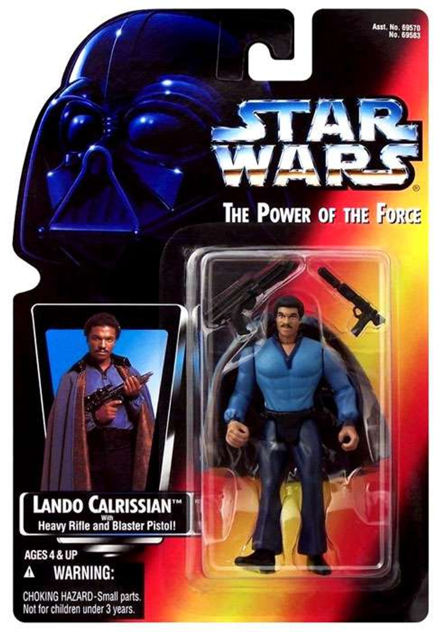 Star Wars Empire Strikes Back Power of the Force POTF2 Lando Calrissian Action Figure