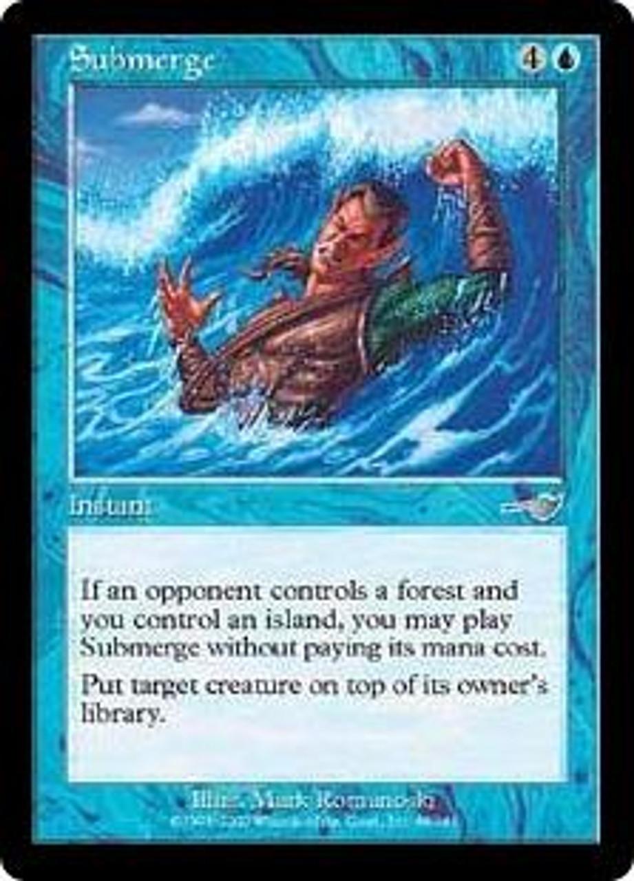 MtG Nemesis Uncommon Submerge #48 [Slightly Played Condition]