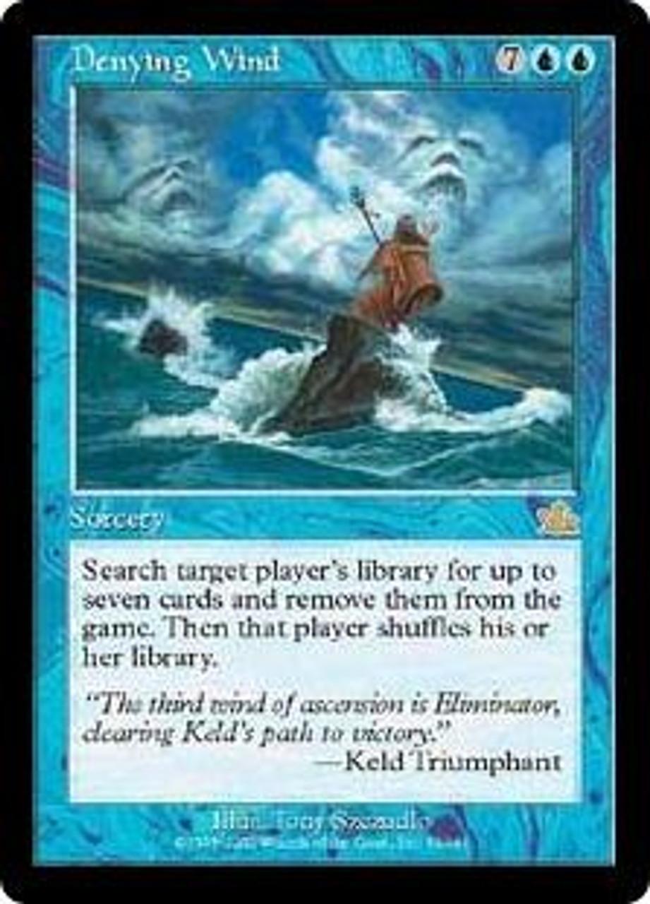 MtG Prophecy Rare Denying Wind #32