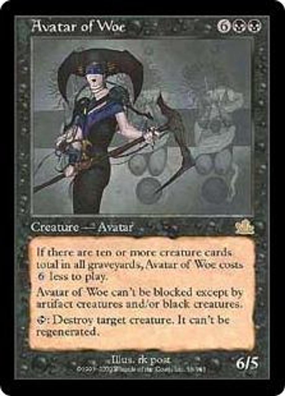 MtG Prophecy Rare Avatar of Woe #56
